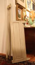 A Neoclassical Style Painted Bed