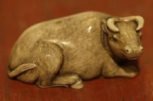 A Japanese Ivory Netsuke