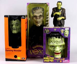 A Group of Frankenstein Items