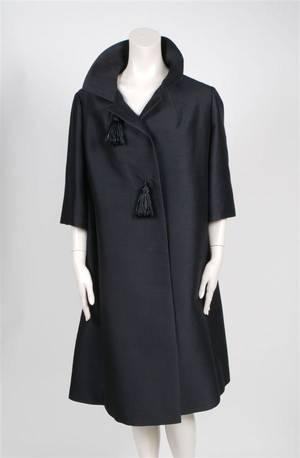 A Black Evening Coat