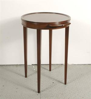 An American Mahogany Occasional Table Kittinger