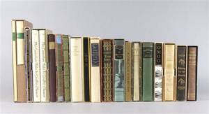 LIMITED EDITIONS CLUB A group of 20 vols
