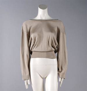 An Alaia Tan Sweater