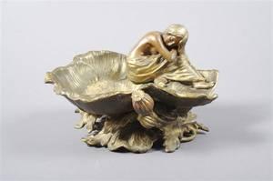 An Art Nouveau Figural Dish