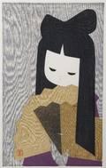 A Group of Three Japanese Woodblock Prints by Kaoru Kawano