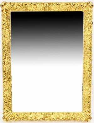 Palatial Louis XV style Gilt Carved Mirror