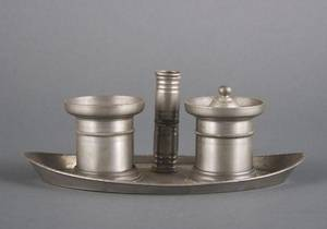 A Pewter Standish