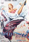 A French Movie Poster for John Hustons Moulin Rouge