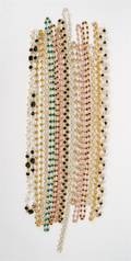 A Group of Goldtone and Rhinestone Necklaces