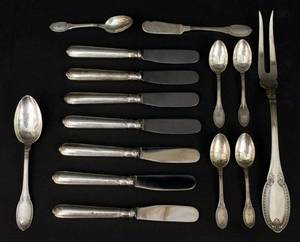 Group of 15 Pieces of Buccellati Sterling