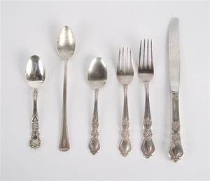 A Partial Set of Sterling Silver Flatware Gorham