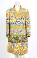 A Geoffrey Beene Floral Print Jacket