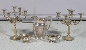A Group of Silverplate Articles