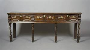 An English Charles II Style Sideboard