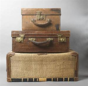 An English Alligator Hide Traveling Case Mappin  Webb