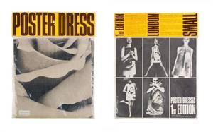 A Harry Gordon Black and White Poster Dress