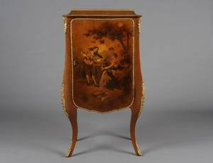 LOUIS XV STYLE VERNIS MARTIN SIDE CABINET