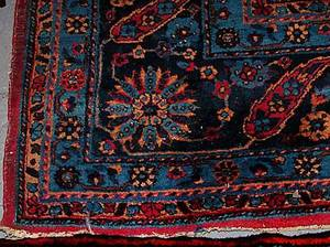 297 Persian Semi Antique Sarouk Carpet
