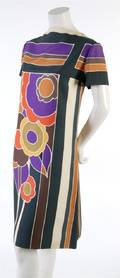 A Lanvin Adaptation Floral Silk Dress