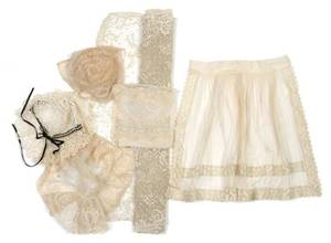 A Group of Lace Items