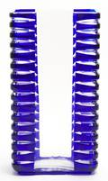 A Scandinavian Cobalt Glass Vase
