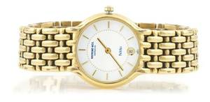 A Gold Plated Wristwatch Raymond Weil