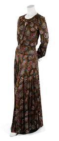 A Missoni Printed Silk Jersey Two Piece Dress