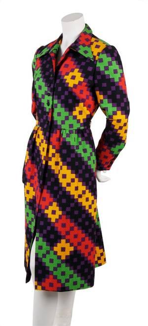 A Lanvin Geometric Print Cotton Jacket