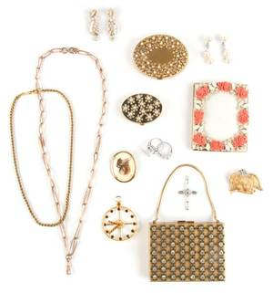 A Group of Fourteen Miscellaneaous Accessories