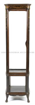 An English Rosewood Vitrine Cabinet