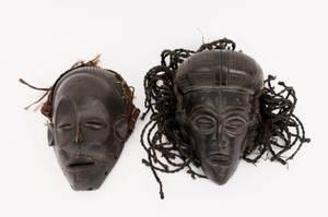 Two Chokwe African Masks