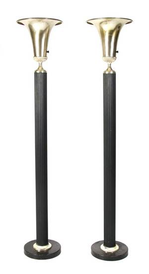 A Pair of Art Deco Style Torcheres