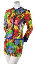 A Gianni Versace Warhol Suit