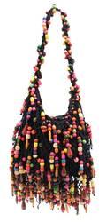 A Renaud Pellegrino Multicolored Bead Bag