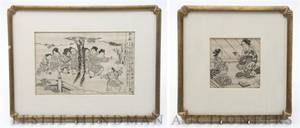 A Group of Four Japanese Prints