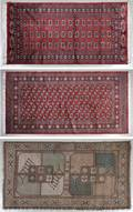 A Group of Three Persian Rugs