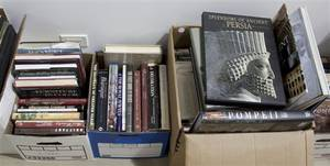 A Collection of Books Pertaining to Art