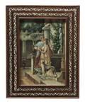 A Portrait Miniature on Parchment