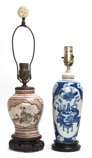 A Chinese Porcelain Bottle Vase