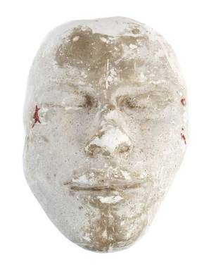 CHICAGO CRIME DILLINGER DEATH MASK