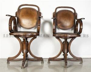 A Pair of Bentwood Armchairs