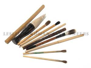 A Collection of Nine Chinese Brushes