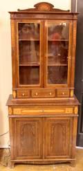 Biedermeier Cupboard w Two Doors