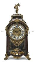 A Napoleon III Style Boulle Marquetry Bracket Clock Levy