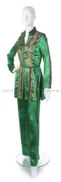 A Thea Porter Emerald Green Orientalist Ensemble