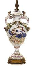 A Capodimonte Covered Urn