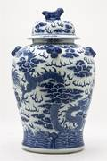 A Chinese Porcelain Vase and Cover