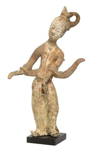 A Tang Style Pottery Figure