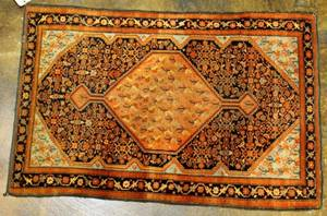 A Persian Meyeler Handknotted Rug
