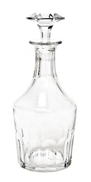A Baccarat Glass Decanter